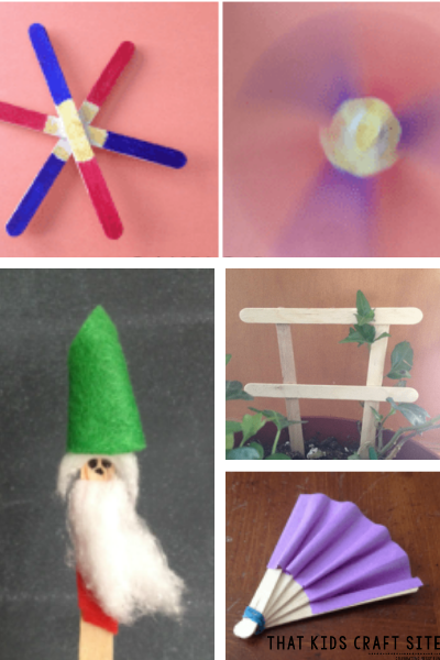 7+ Spring Crafts for Kids Using Popsicle Sticks - ThatKidsCraftSite.com