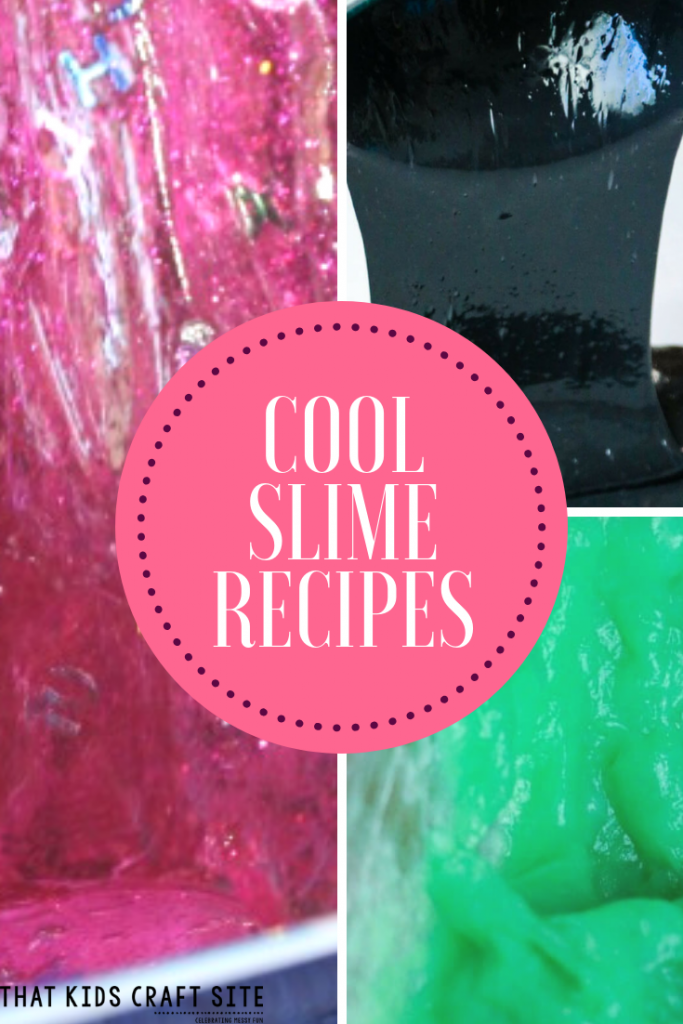 Cool Slime Recipes