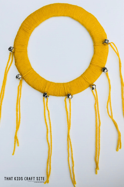 Fun DIY Tambourine Craft for Kids - ThatKidsCraftSite.com