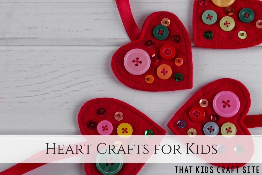 Heart Crafts for Kids - ThatKidsCraftSite.com