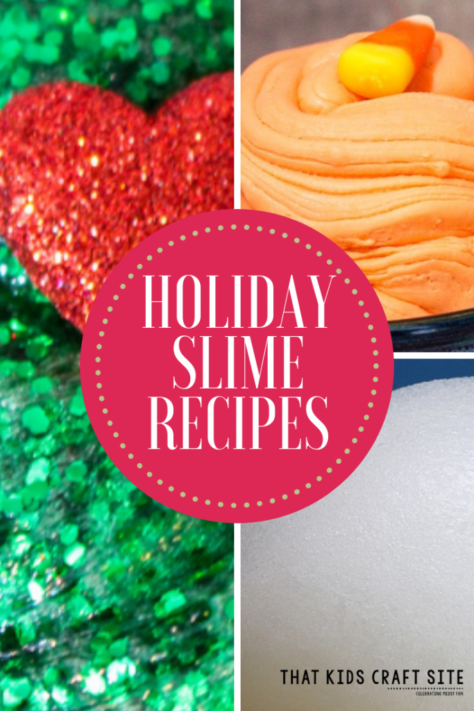 Holiday Slime Recipes