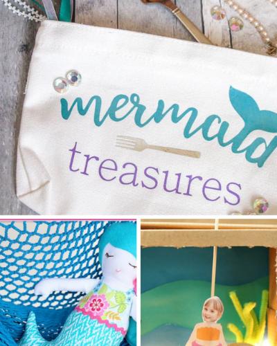 Mermaid Crafts for Kids - ThatKidsCraftSite.com