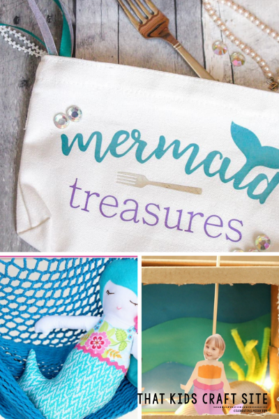 Mermaid Crafts for Kids - ThatKidsCraftSite.com
