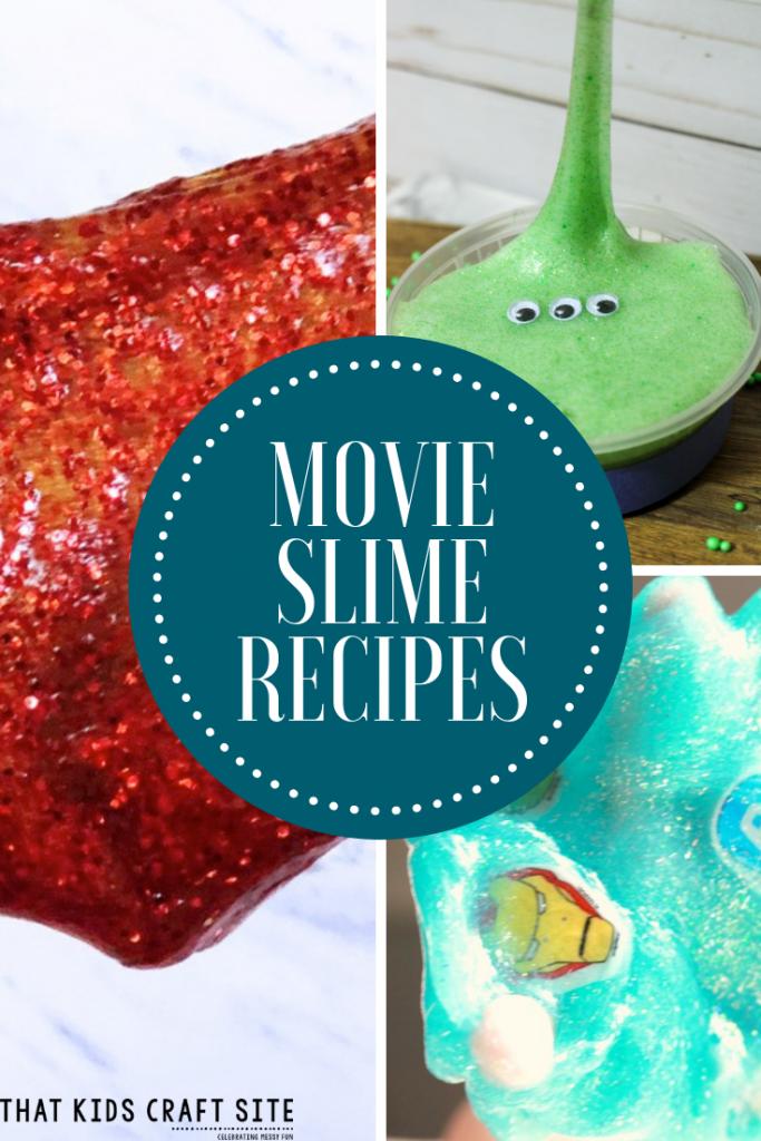 Movie Slime Recipes