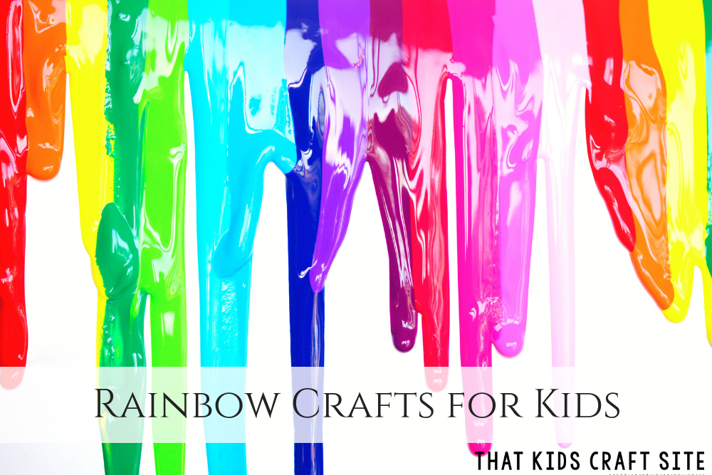 Rainbow Crafts for Kids - ThatKidsCraftSite.com
