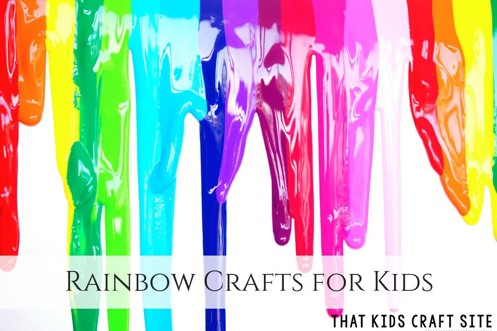 Rainbow Crafts for Kids - ThatKidsCraftSite.com