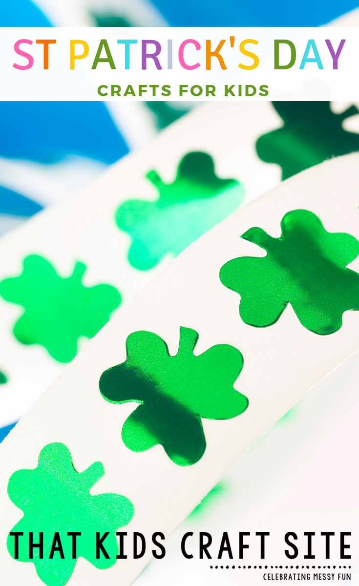 St Patricks Day Crafts for Kids - Fun Spring Crafts - ThatKidsCraftSite.com