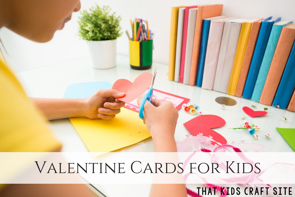 Valentines Cards for Kids - homemade Valentine's Day cards ideas -  ThatKidsCraftSite.com