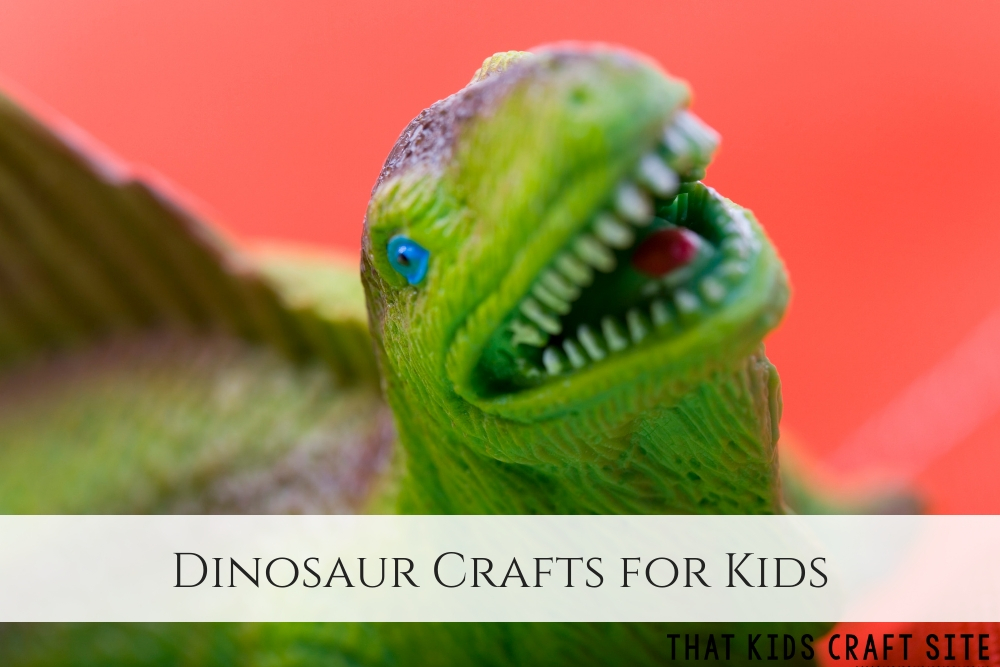 Dinosaur Crafts for Kids - ThatKidsCraftSite.com