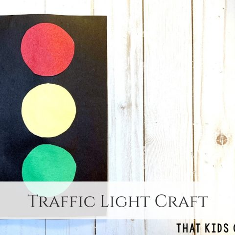 Traffic Light Craft for Preschoolers - That Kids' Craft Site