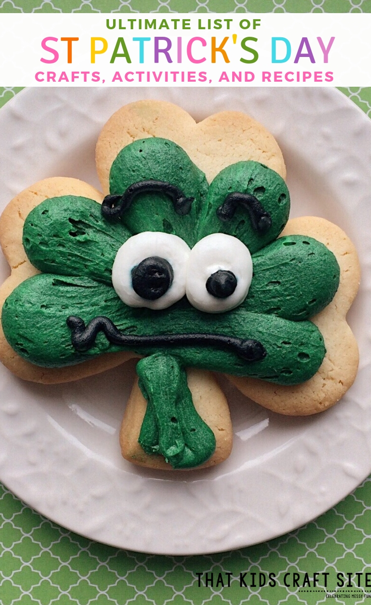 Ultimate List of St. Patrick's Day Crafts, Activities, and Recipes - ThatKidsCraftSite.com
