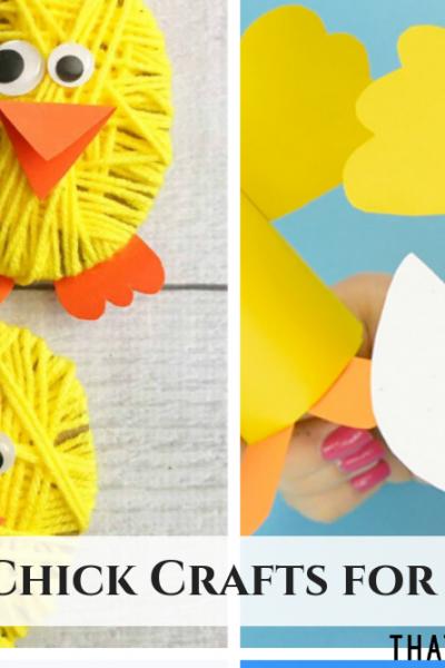 20+ Chick Crafts for Kids - ThatKidsCraftSite.com