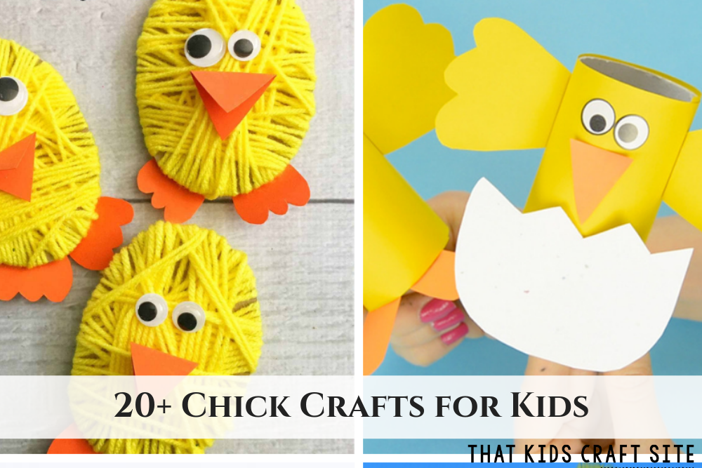 20+ Chick Crafts for Kids - ThatKidsCraftSite.com