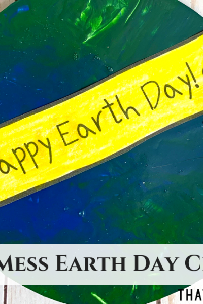 Earth Day Craft - ThatKidsCraftSite.com