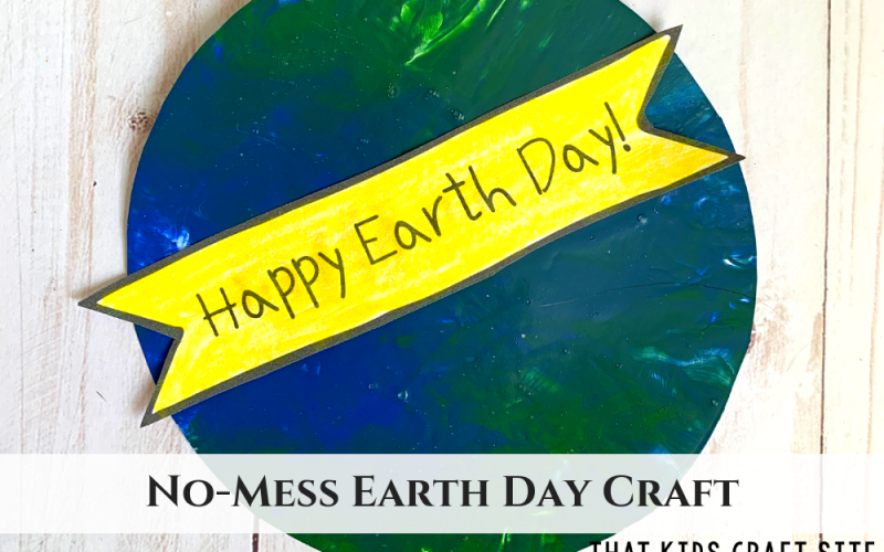 Earth Day Craft - ThatKidsCraftSite.com