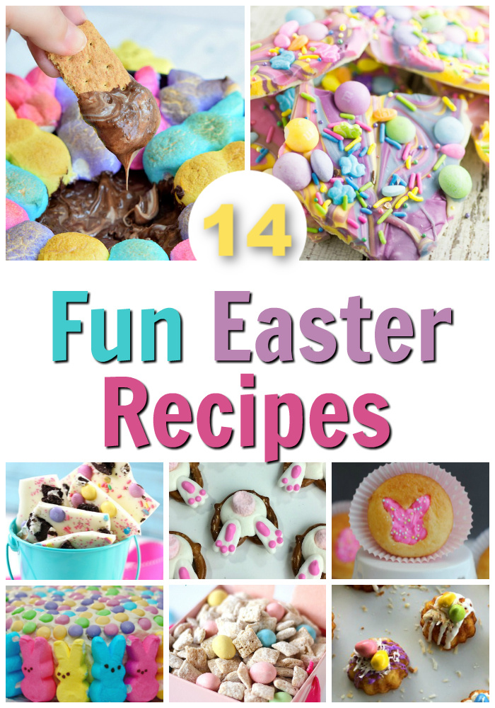 14 Fun Easter Recipes and Treats Kids Can Make - ThatKidsCraftSite.com