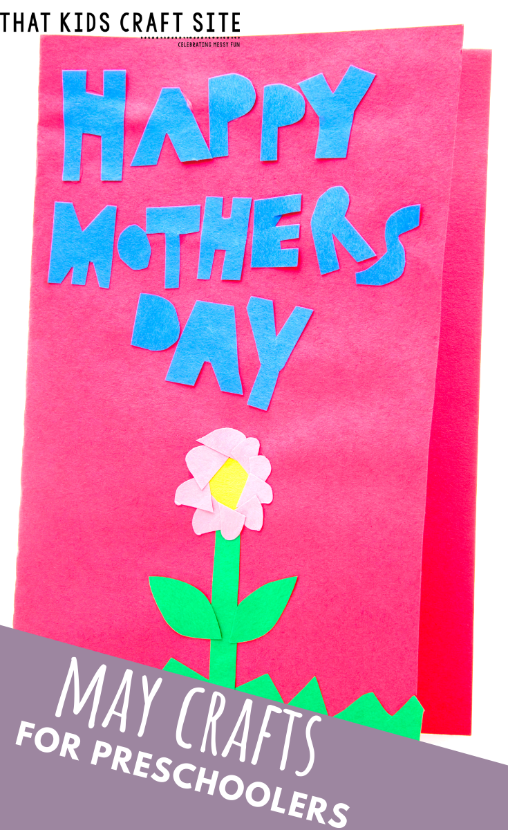 May Crafts for Preschoolers - a Collection of May Preschool Craft Ideas - Preschool Crafts for Kids - ThatKidsCraftSite.com