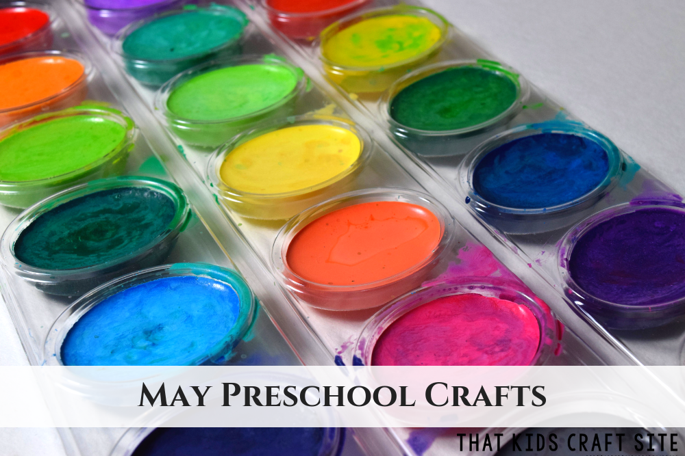 May Preschool Crafts - ThatKidsCraftSite.com
