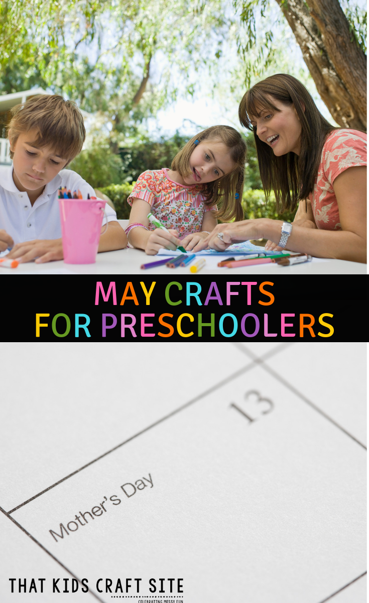 Preschool Crafts for May - a Collection of Fun May Preschool Craft for Kids - ThatKidsCraftSite.com