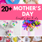 20+ Easy Mother's Day Crafts for Kids - ThatKidsCraftSite.com