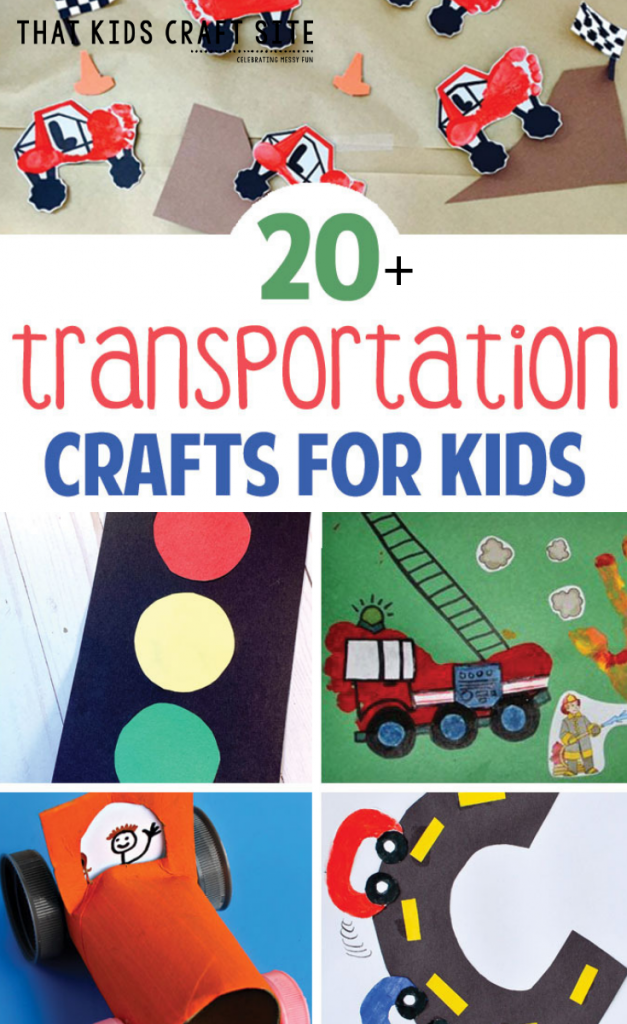 20+ Fun Transportation Crafts and Activities for Kids - ThatKidsCraftSite.com