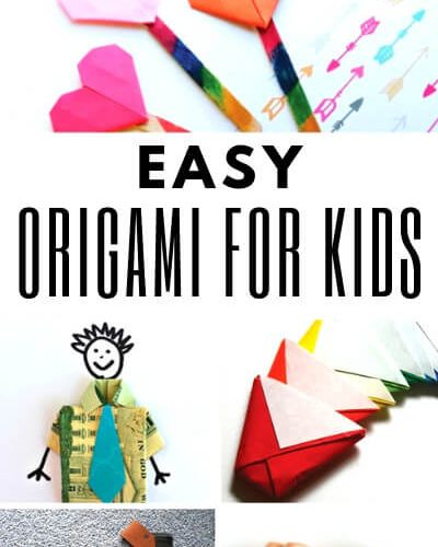 Easy Origami for Kids - Origami Crafts and Projects for Beginners - ThatKidsCraftSite.com