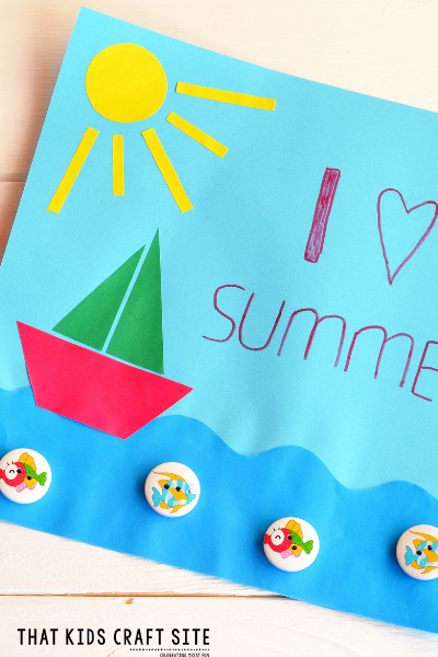 Preschool Crafts - June Crafts for Preschoolers - ThatKidsCraftSite.com