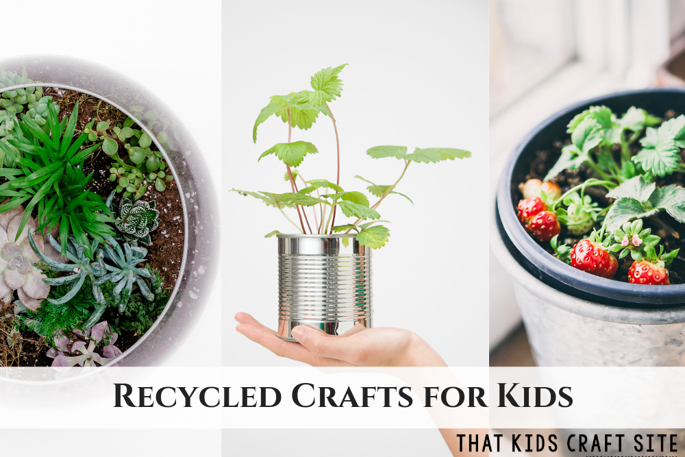 Recycled Crafts for Kids - ThatKidsCraftSite.com