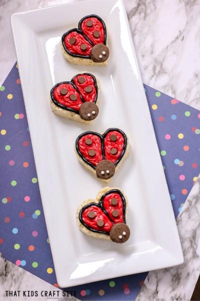 Ladybug Themed Snacks - ThatKidsCraftSite.com