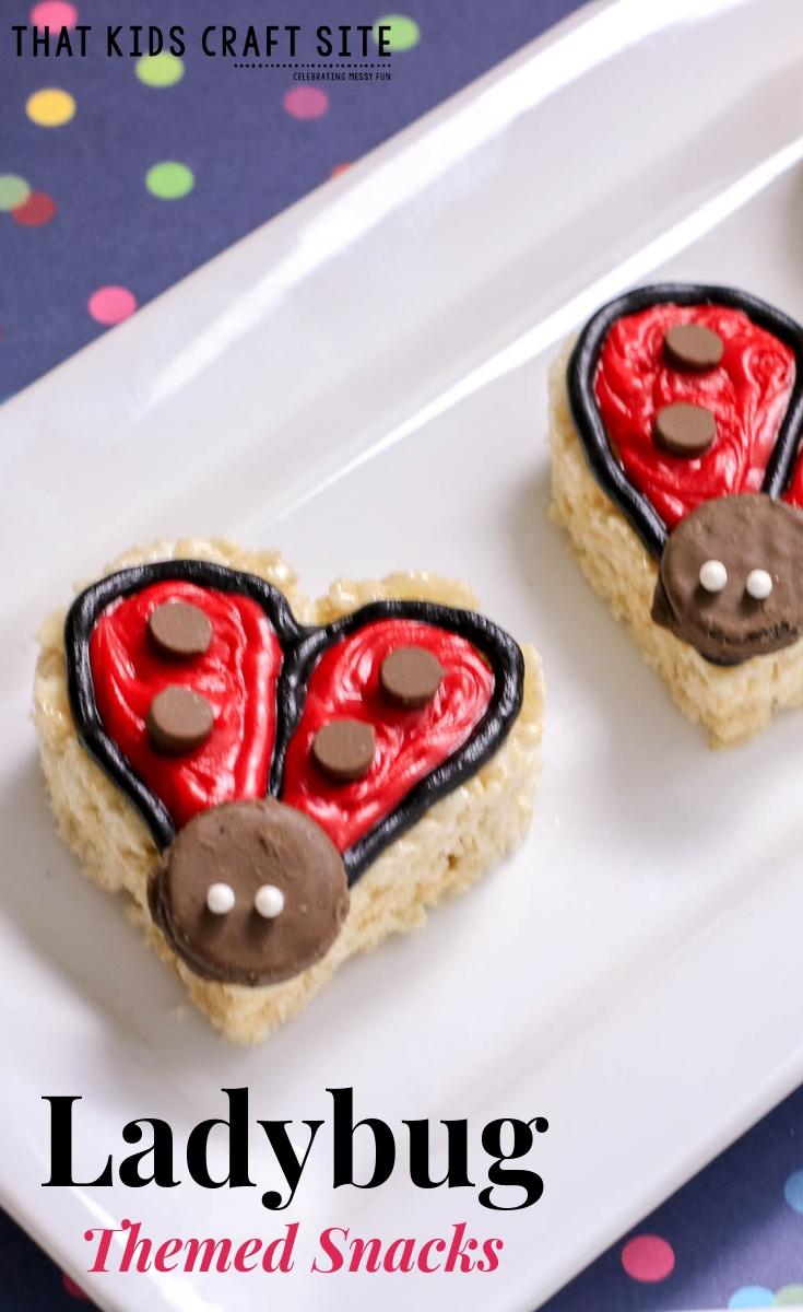 Ladybug Themed Snacks for Kids - ThatKidsCraftSite.com