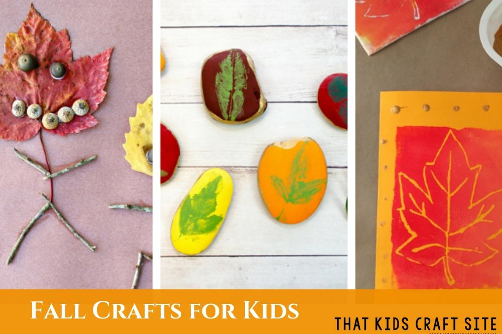 Fall Crafts for Kids - Preschool Fall Crafts - ThatKidsCraftSite.com