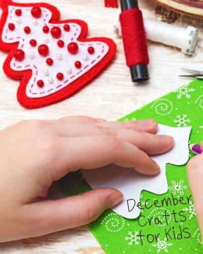 December Crafts for Kids - ThatKidsCraftSite.com