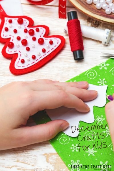 December Crafts for Kids - ThatKidsCraftSite.com