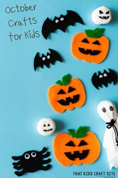 October Crafts for Kids - ThatKidsCraftSite.com