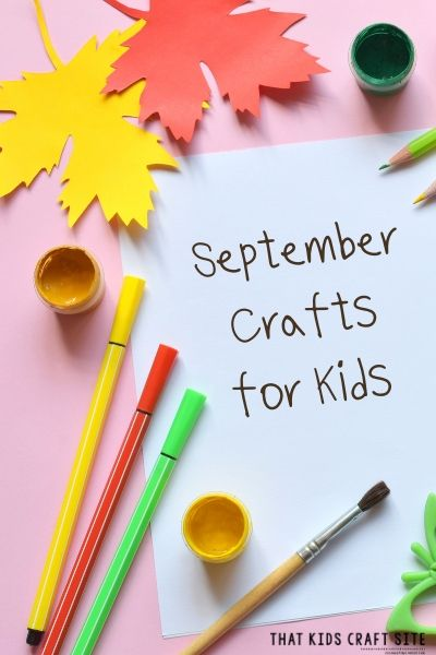 September Crafts for Kids - ThatKidsCraftSite.com