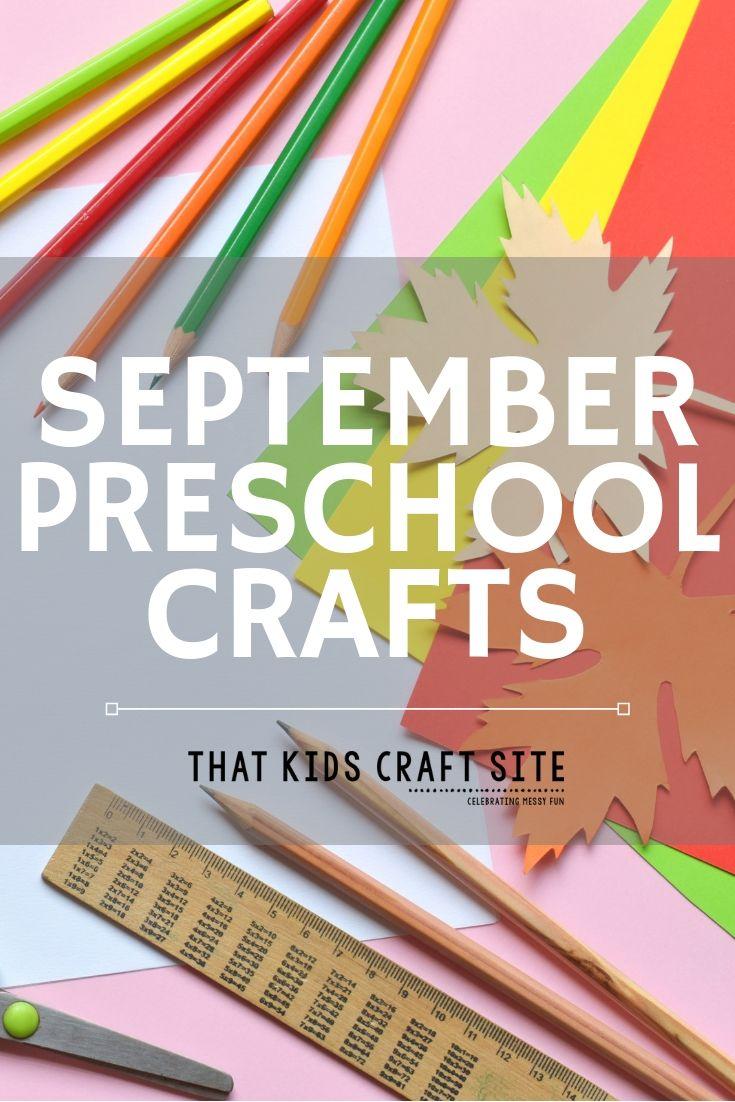September Preschool Arts and Crafts - ThatKidsCraftSite.com
