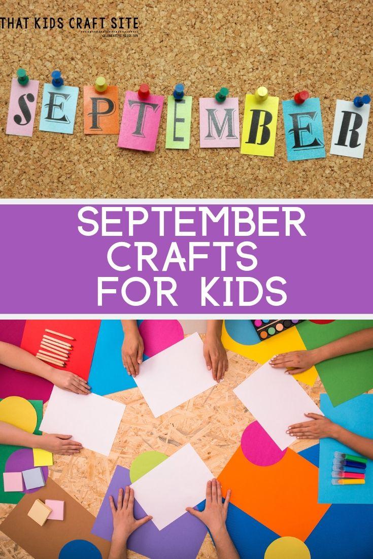 September Preschool Crafts for Kids - ThatKidsCraftSite.com