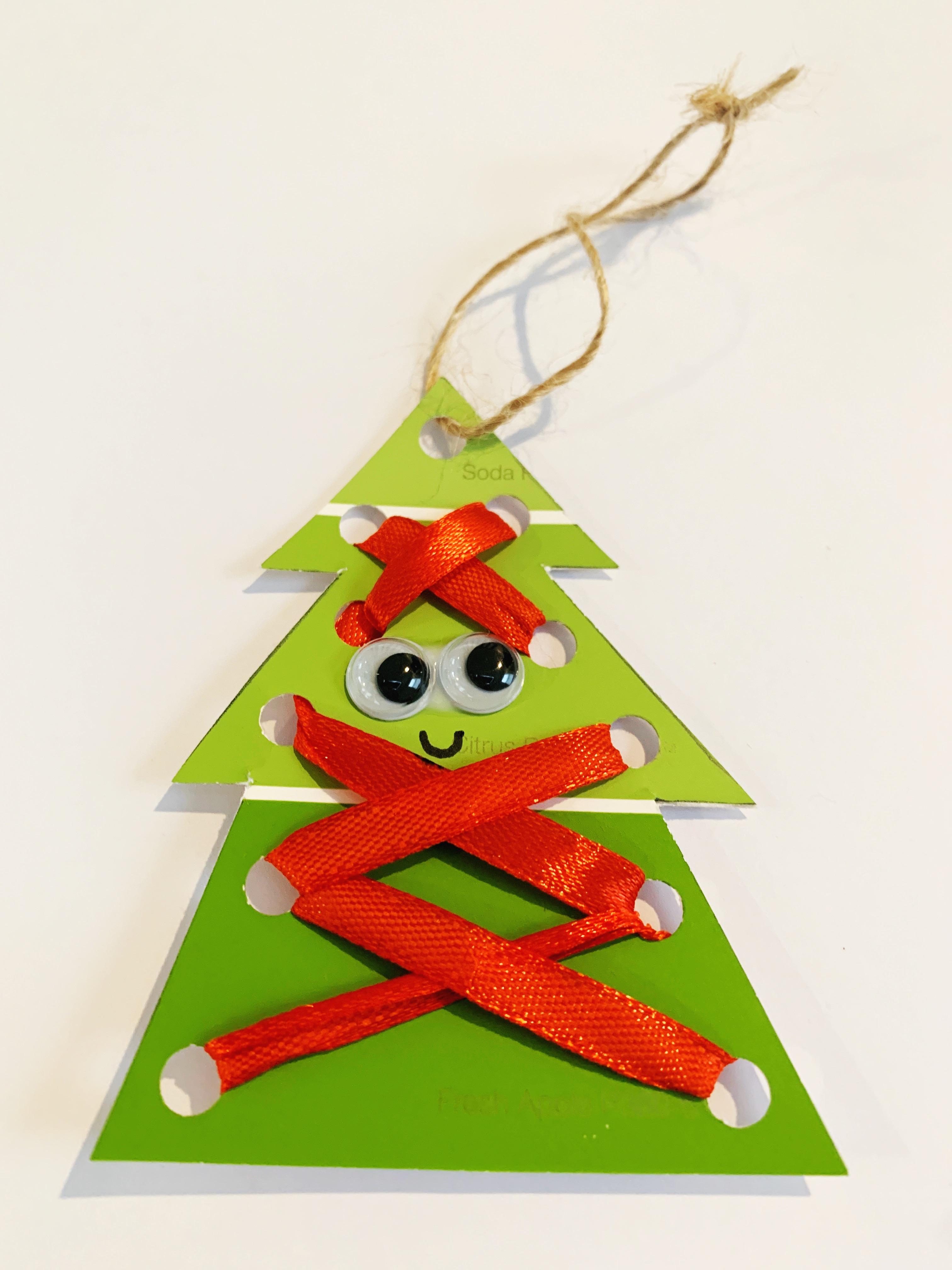 Christmas Tree Craft for Preschoolers