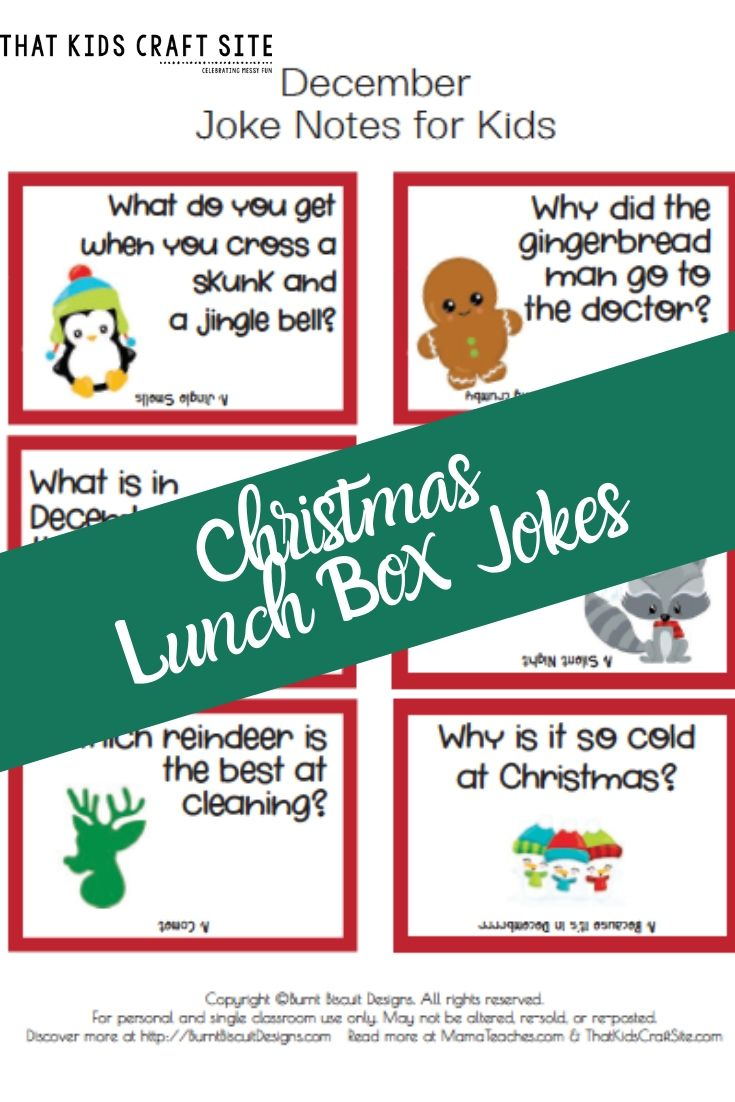 Christmas Jokes for Kids from That Kids Craft Site