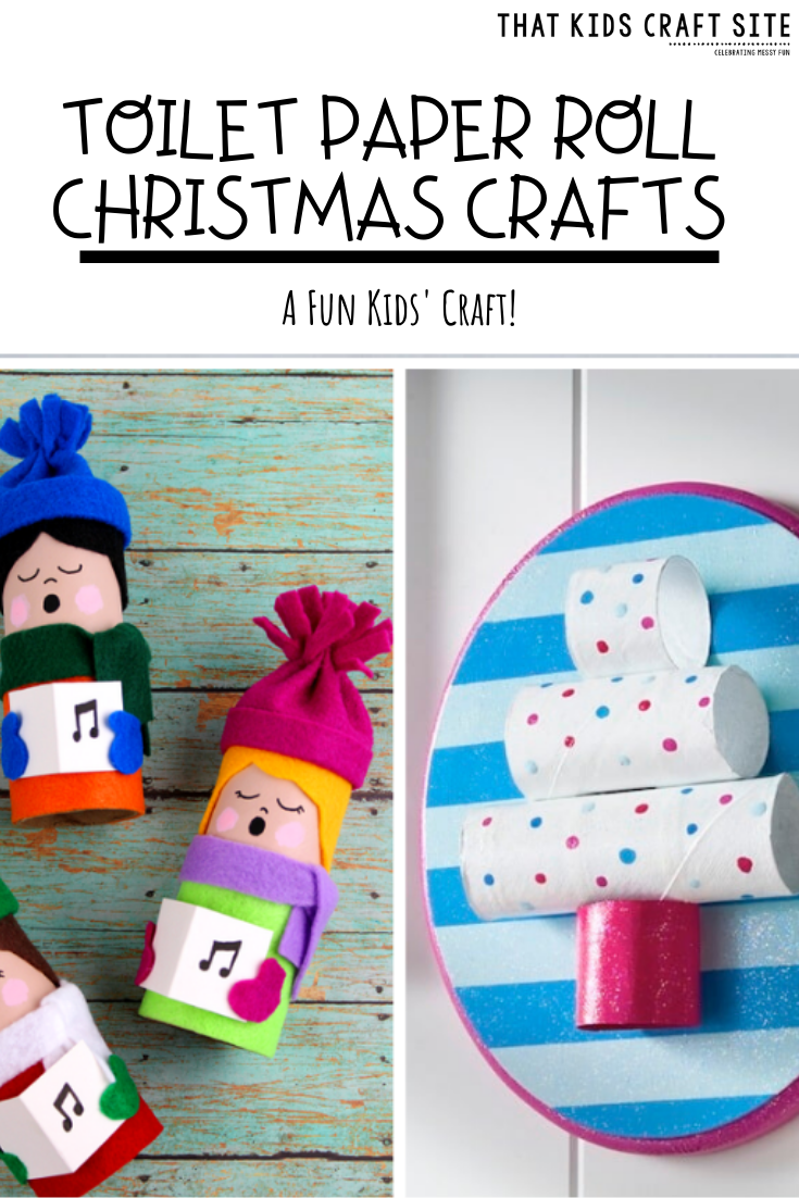 Fun Toilet Paper Roll Christmas Crafts for Kids