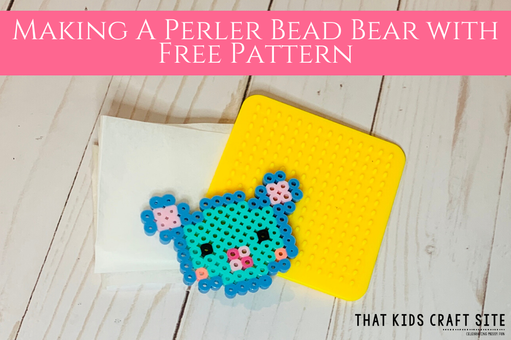 How to Make a Perler Bead Bear from That Kids Craft Site