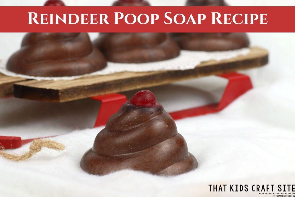 Reindeer Poop Soap Recipe - ThatKidsCraftSite.com