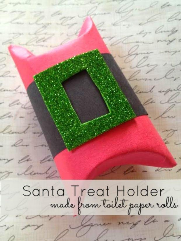 Santa's Belt Buckle Party Favor