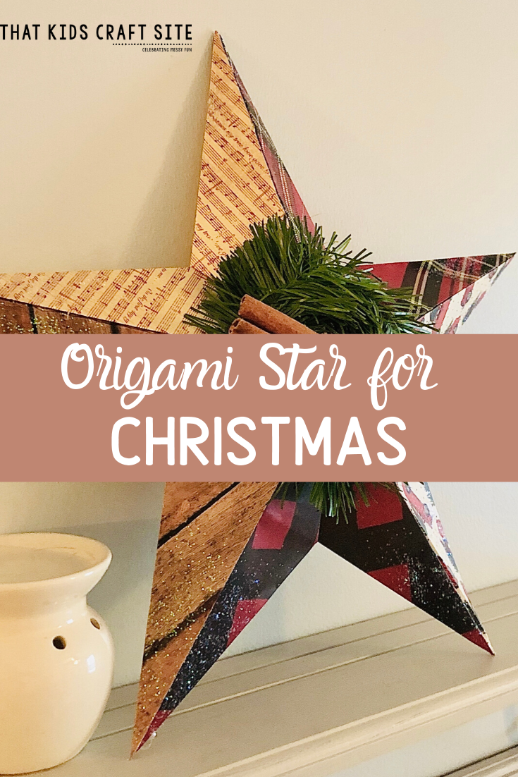 Origami Star Craft for Tweens and Teens by ThatKidsCraftSite