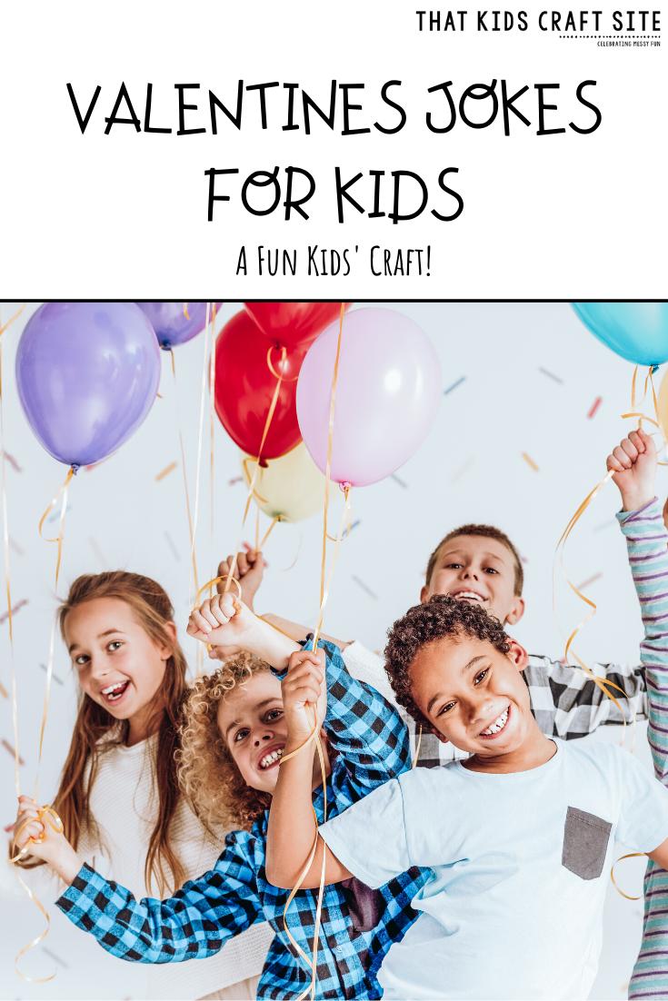 Free Printable Kid's Valentine's Lunch Box Jokes   - ThatKidsCraftSite
