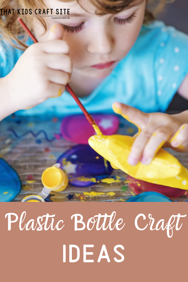 Plastic Water Bottle Crafts for Kids - ThatKidsCraftSite.com