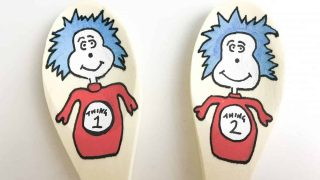 Dr Seuss Cat In The Hat Story Spoons