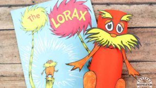 Dr Seuss Craft The Lorax Toilet Tube