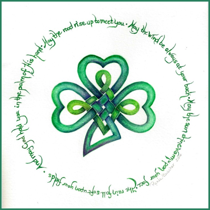An Irish Blessing {Free Art Printable}