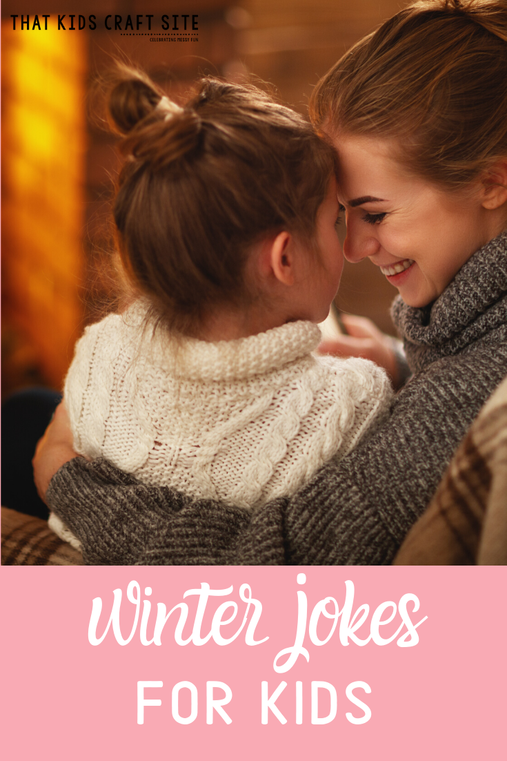 Free Printable Winter Jokes for Kids. Use them in the classroom or slide them in a lunchbox! - ThatKidsCraftSite.com